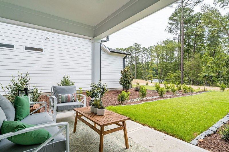Exterior featured in the Northwind By David Weekley Homes in Raleigh-Durham-Chapel Hill, NC