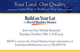 David Weekley Homes - : Houston, TX