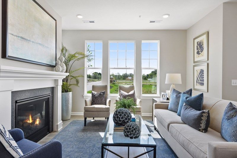 Living Area featured in the Rowan By David Weekley Homes in Minneapolis-St. Paul, MN