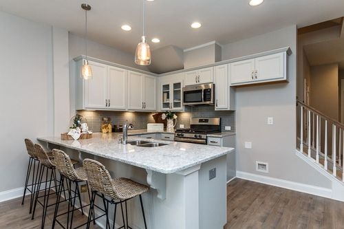 Kitchen-in-Forestdale-at-Chapel Run - Chapel Towns-in-Chapel Hill