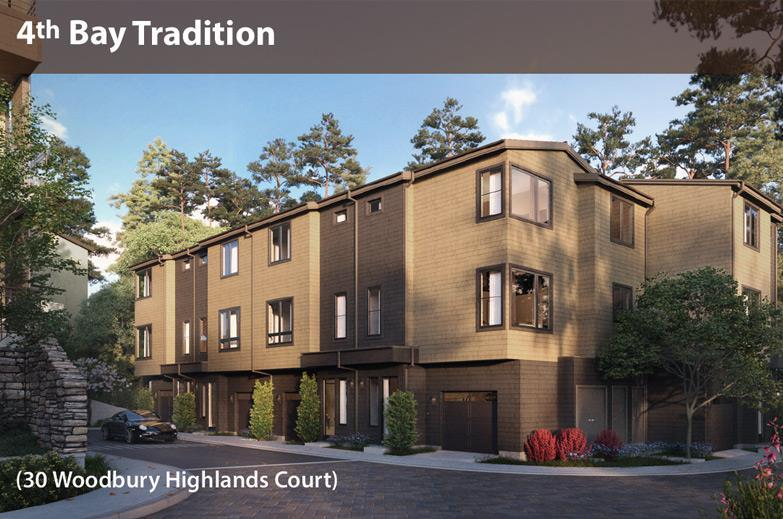 Exterior featured in the Highland Rows A2 By Davidon Homes in Oakland-Alameda, CA