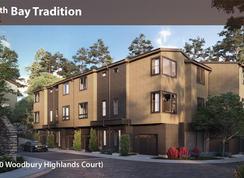 Highland Rows A2 - Woodbury Highlands: Lafayette, California - Davidon Homes