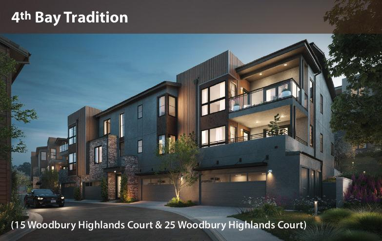 Exterior featured in the Vista Flats B2 By Davidon Homes in Oakland-Alameda, CA