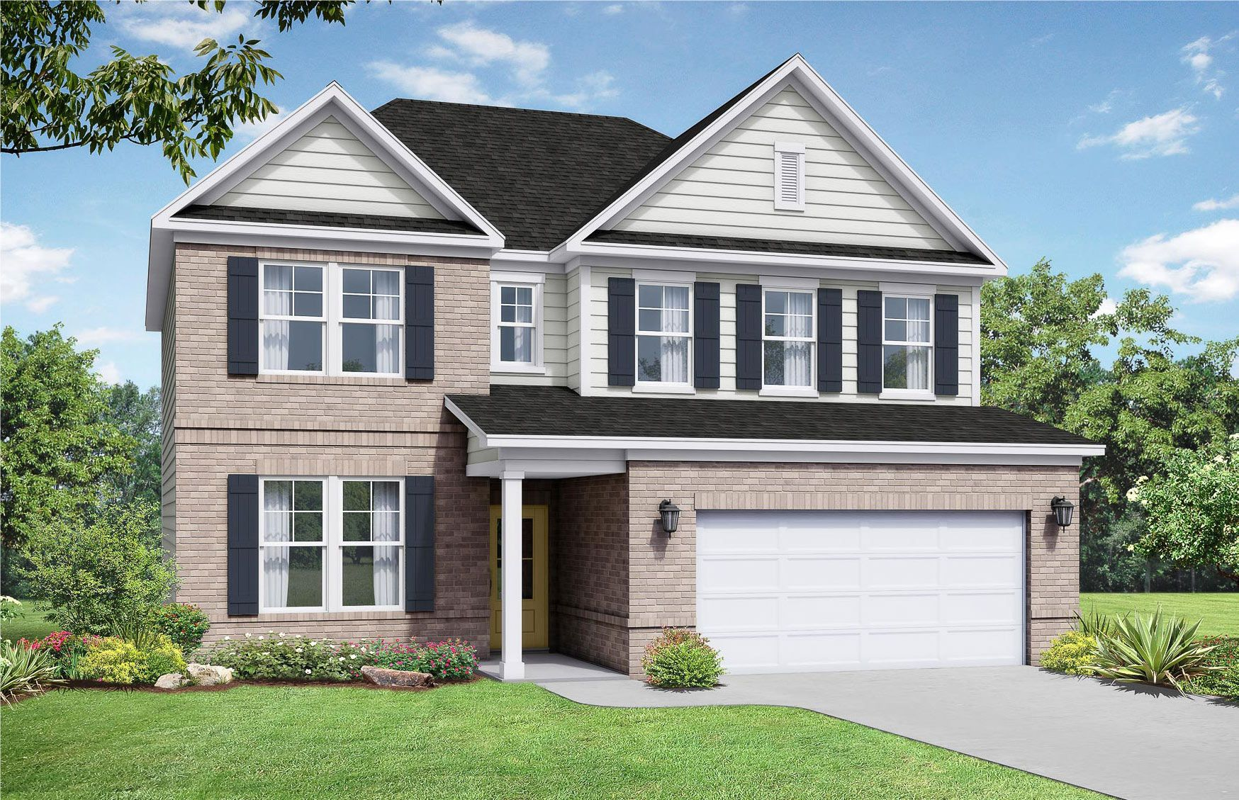 Exterior featured in The Willow C By Davidson Homes LLC in Nashville, TN
