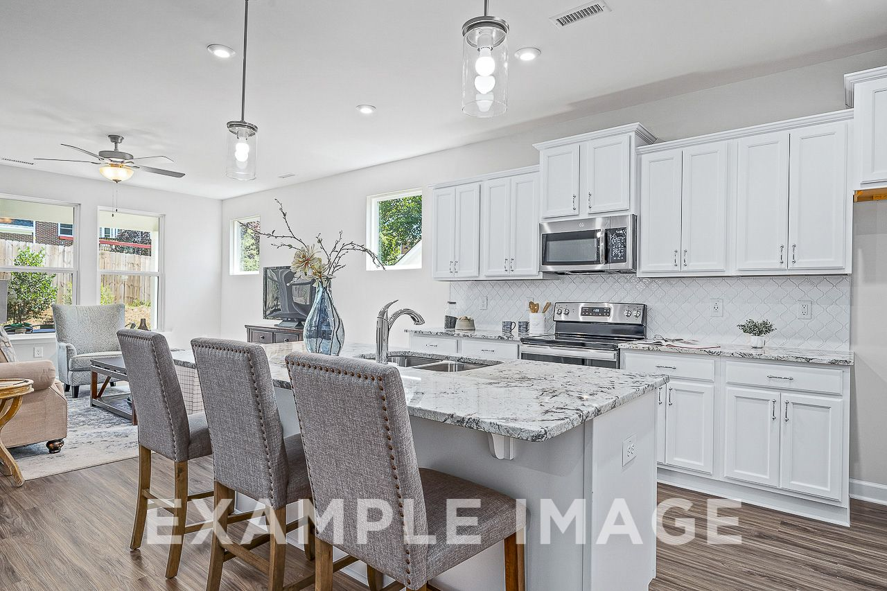 Kitchen featured in The Maple B By Davidson Homes LLC in Raleigh-Durham-Chapel Hill, NC