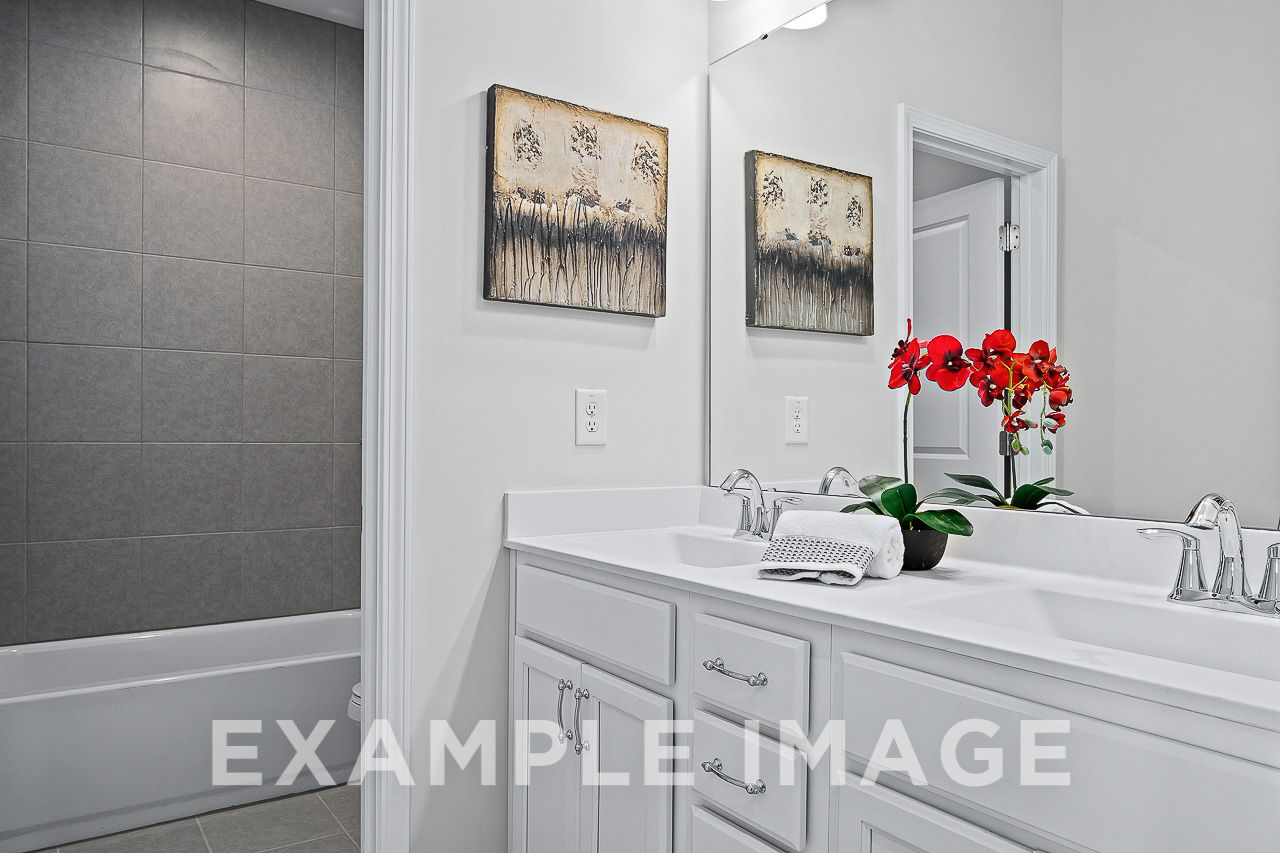 Bathroom featured in The Maple B By Davidson Homes LLC in Raleigh-Durham-Chapel Hill, NC