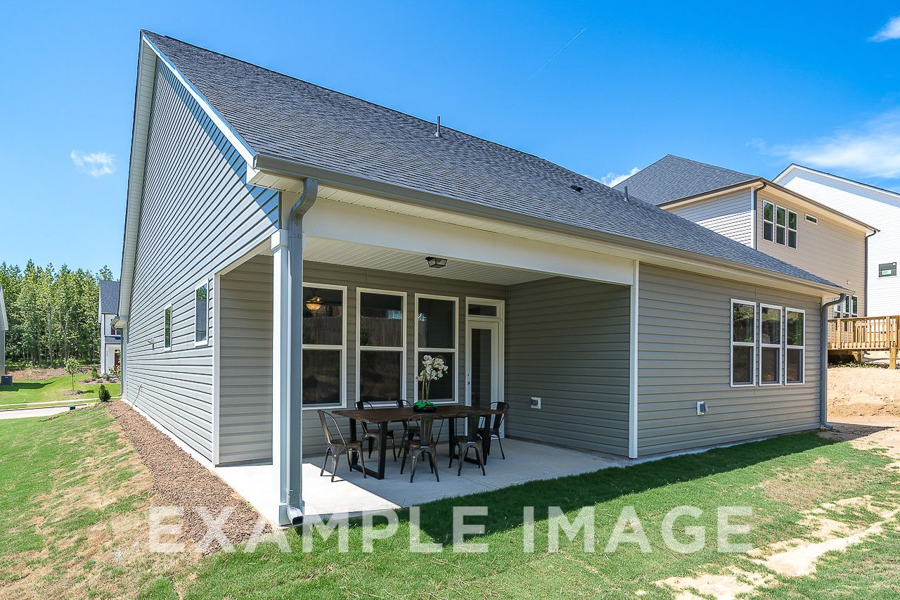Exterior featured in The Maple B By Davidson Homes LLC in Raleigh-Durham-Chapel Hill, NC
