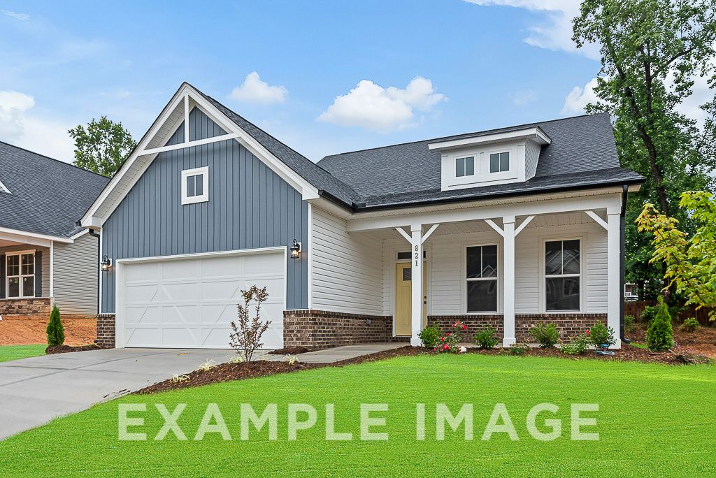 Exterior featured in The Birch B By Davidson Homes LLC in Raleigh-Durham-Chapel Hill, NC
