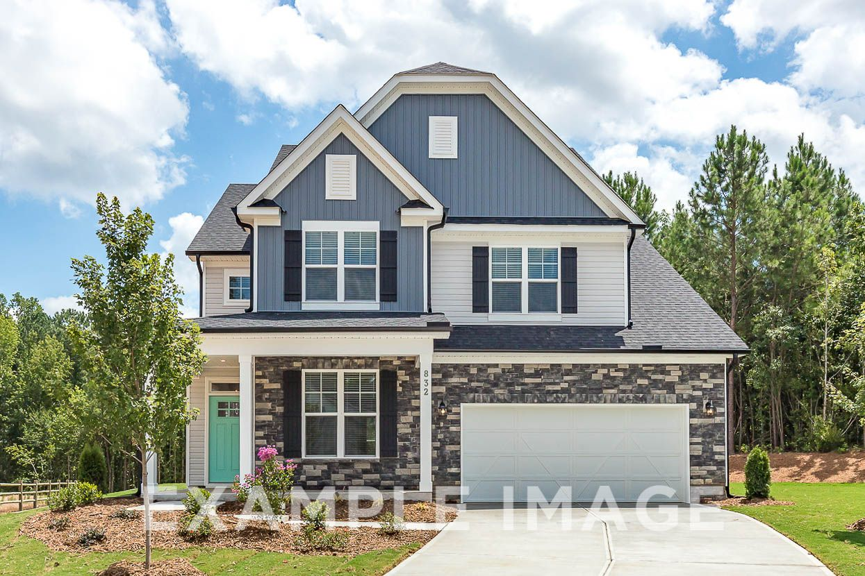 Exterior featured in The Elm C By Davidson Homes LLC in Raleigh-Durham-Chapel Hill, NC
