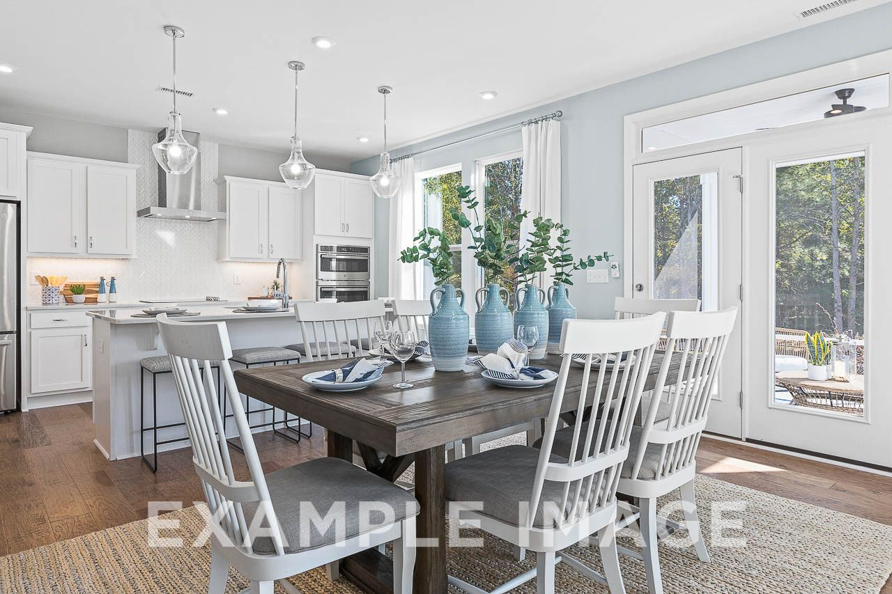 Kitchen featured in The Hemlock C By Davidson Homes LLC in Raleigh-Durham-Chapel Hill, NC