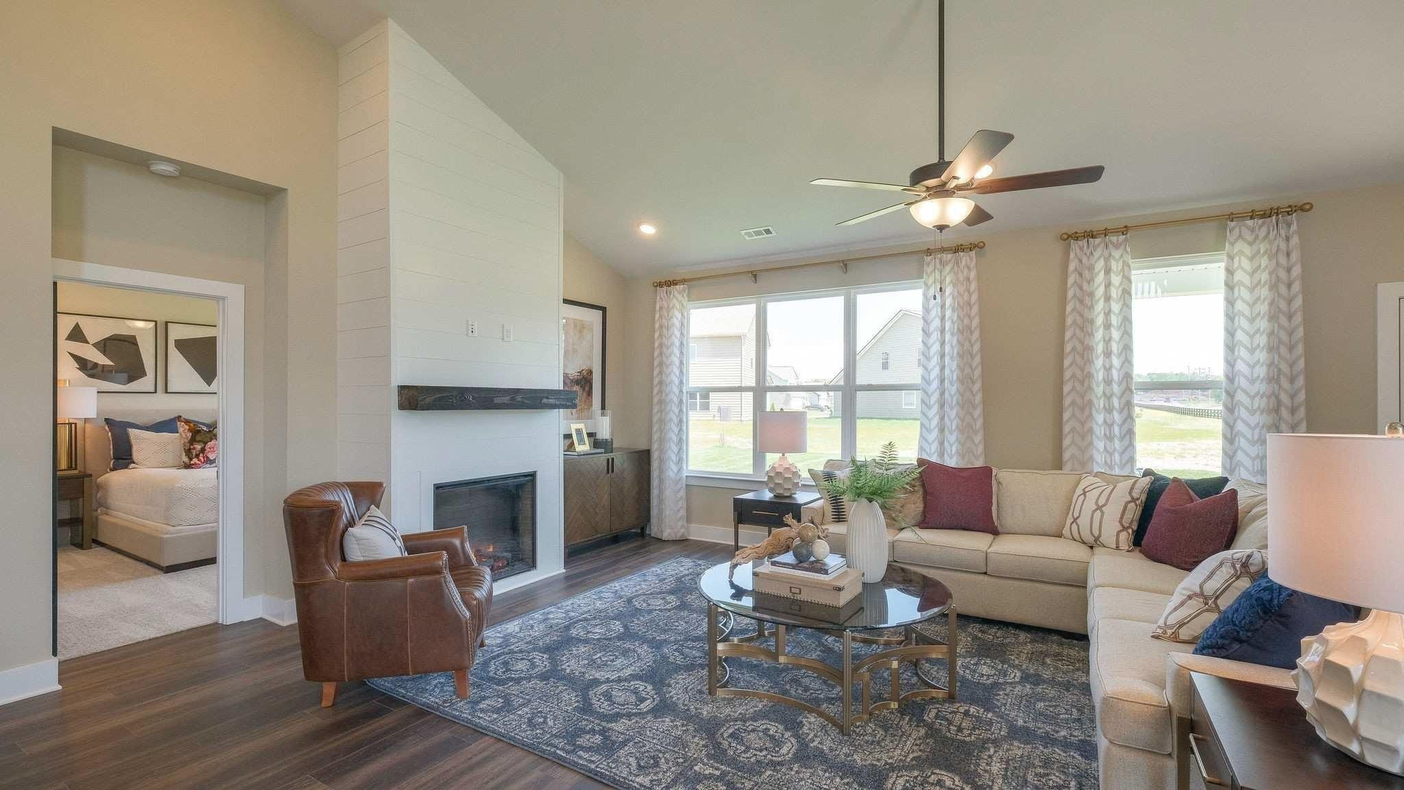 Living Area featured in The Ridgeport B with 3-Car Garage By Davidson Homes LLC in Nashville, TN