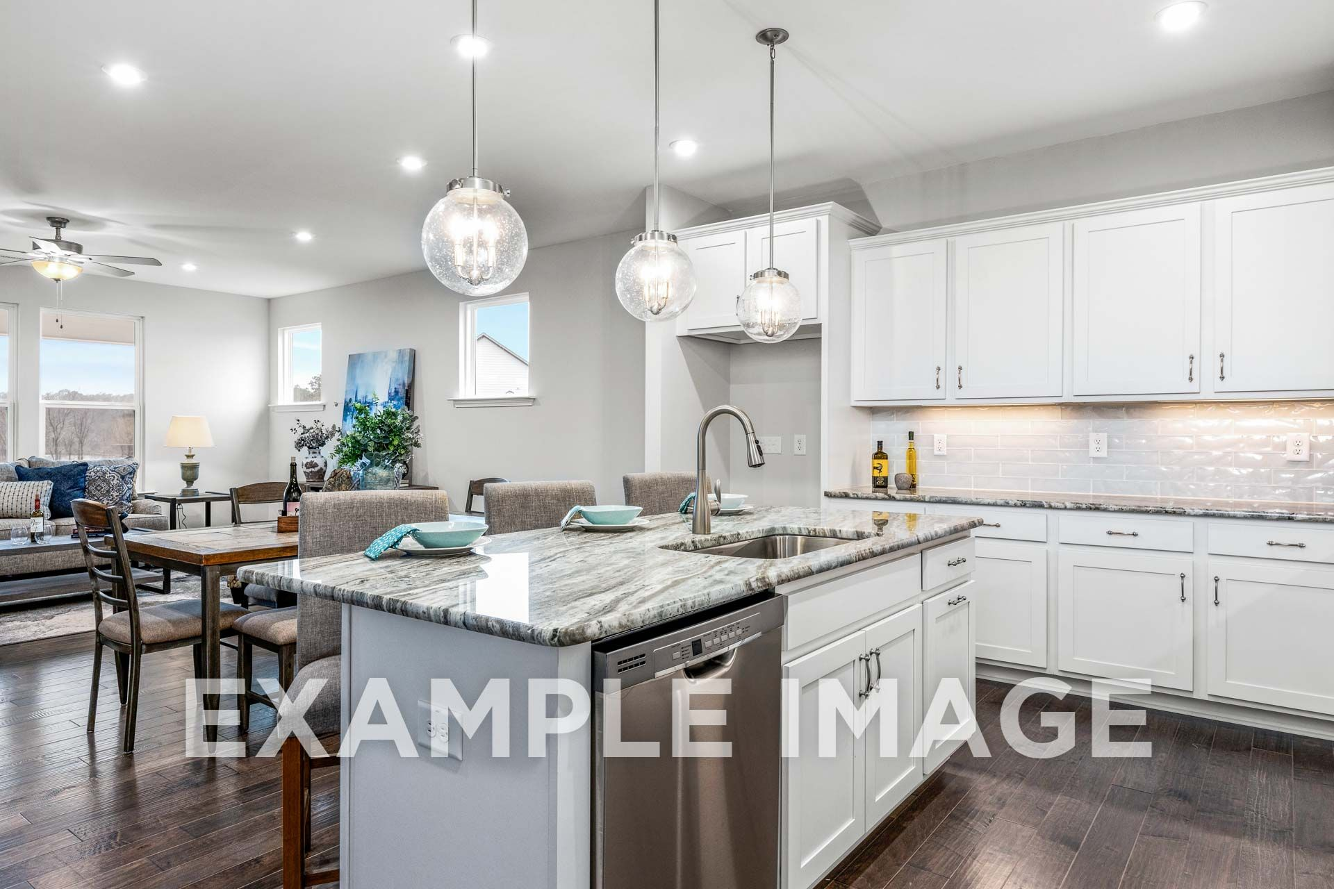 Kitchen featured in The Birch C By Davidson Homes LLC in Raleigh-Durham-Chapel Hill, NC