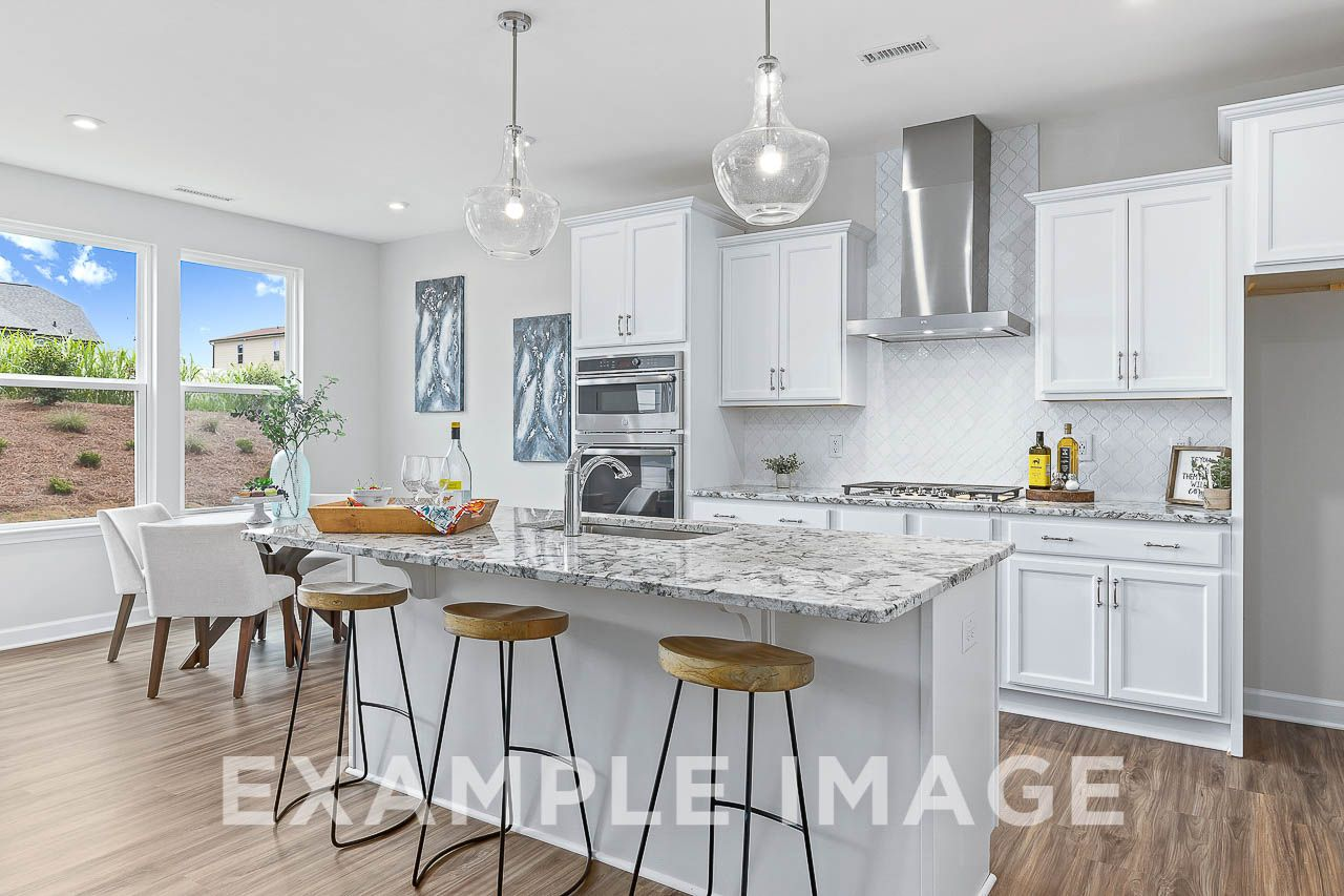 Kitchen featured in The Willow C By Davidson Homes LLC in Raleigh-Durham-Chapel Hill, NC