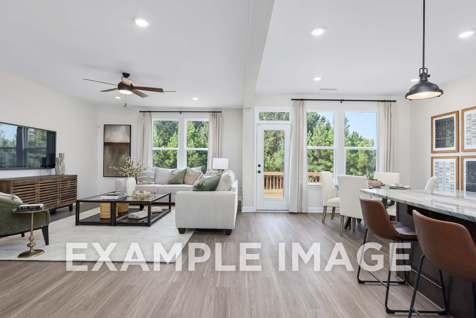 Living Area featured in The Willow D By Davidson Homes LLC in Raleigh-Durham-Chapel Hill, NC