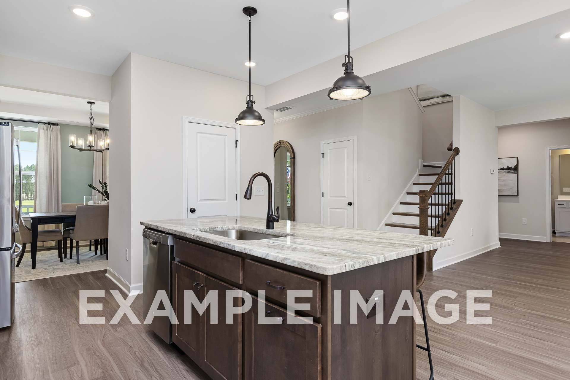 Kitchen featured in The Willow D By Davidson Homes LLC in Raleigh-Durham-Chapel Hill, NC