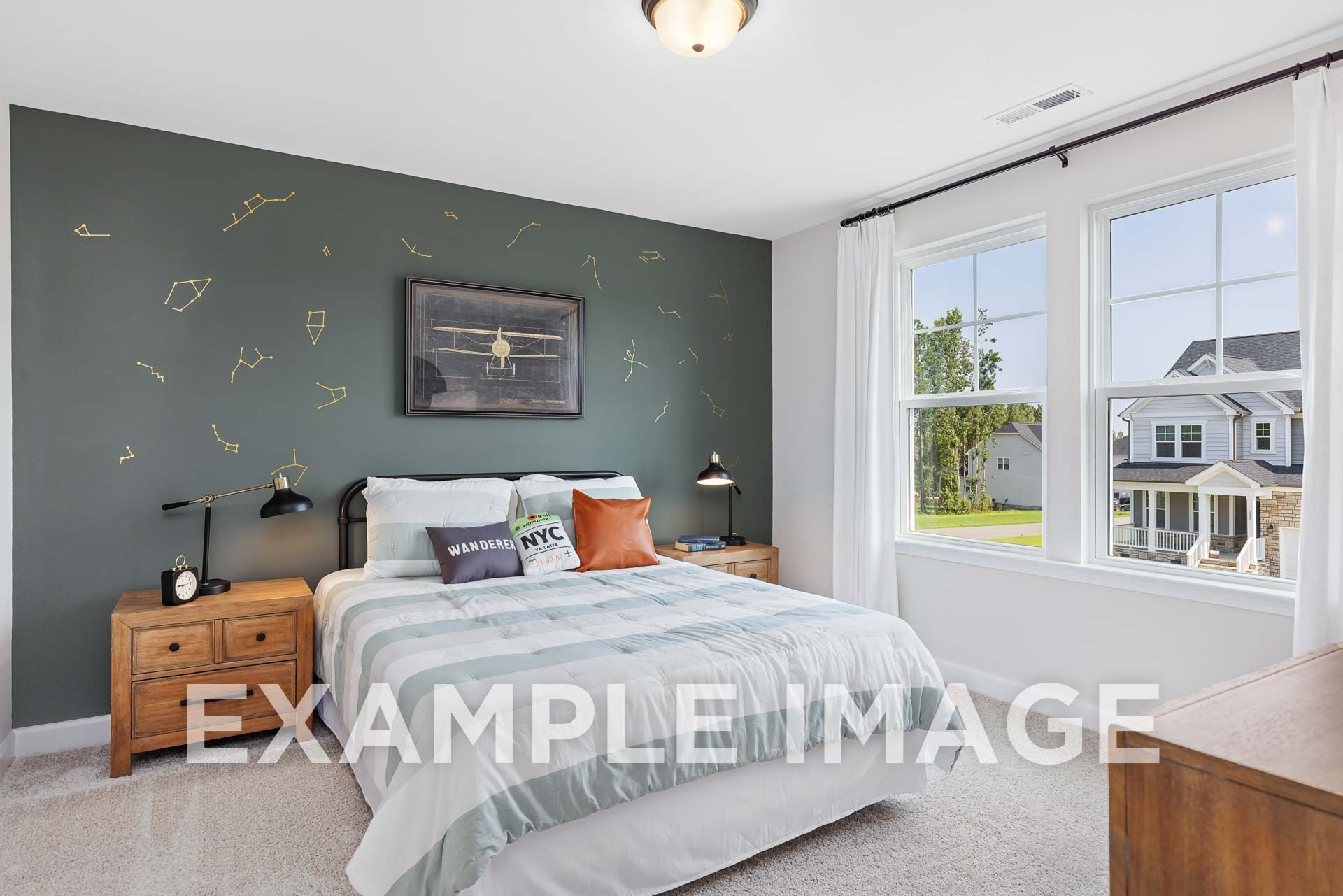Bedroom featured in The Willow D By Davidson Homes LLC in Raleigh-Durham-Chapel Hill, NC