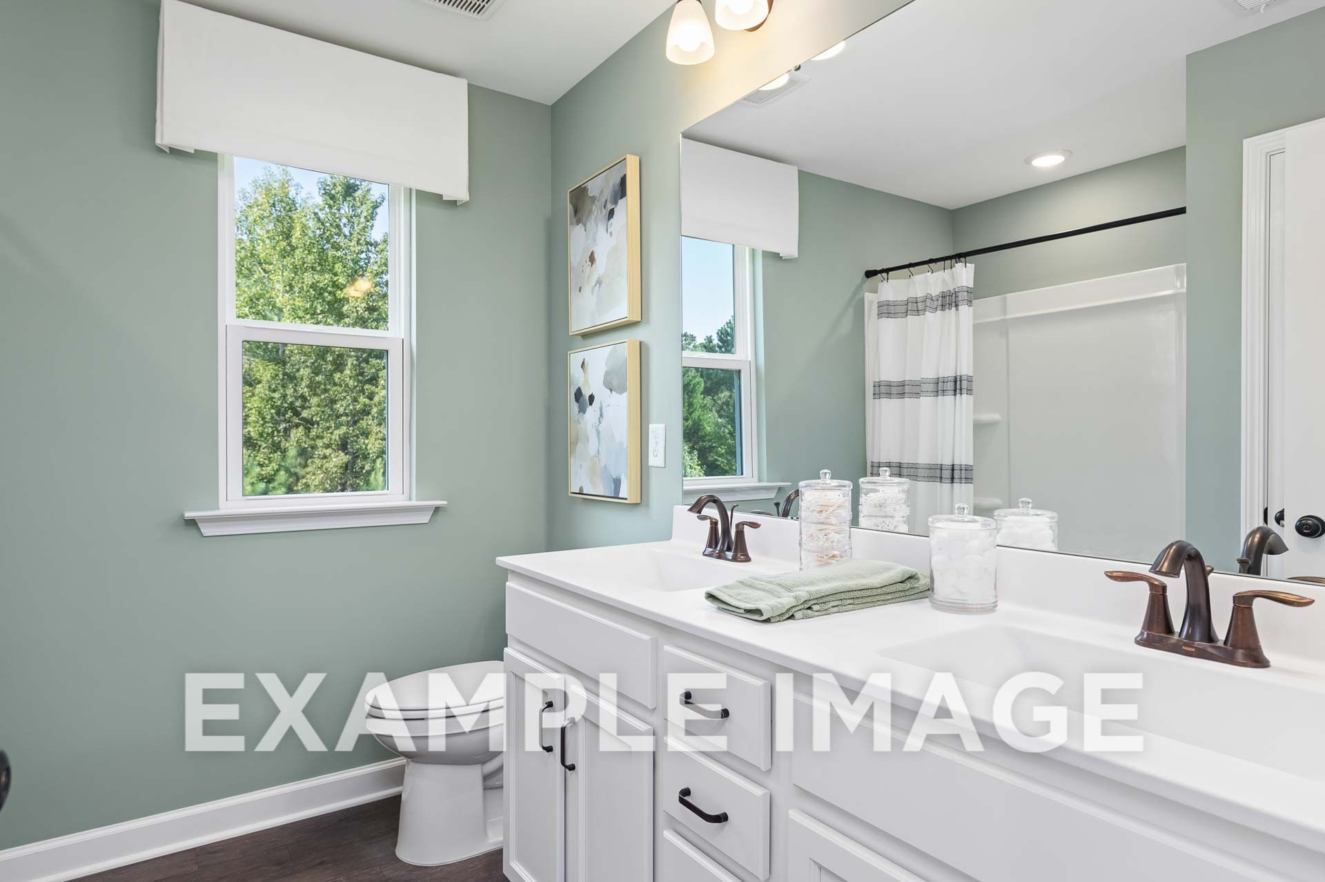Bathroom featured in The Willow D By Davidson Homes LLC in Raleigh-Durham-Chapel Hill, NC