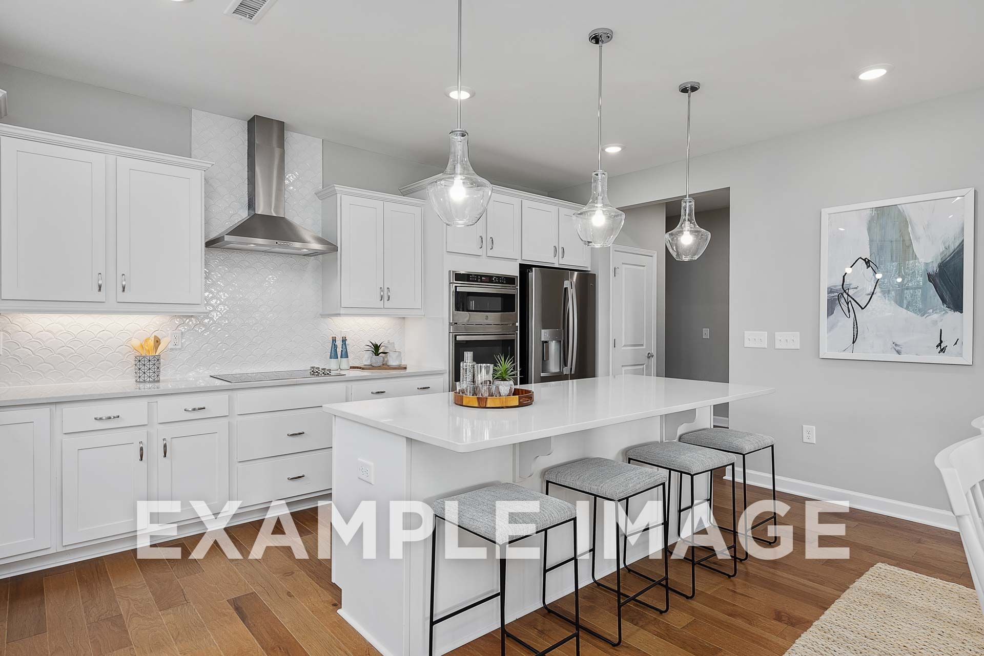 Kitchen featured in The Hickory C By Davidson Homes LLC in Raleigh-Durham-Chapel Hill, NC