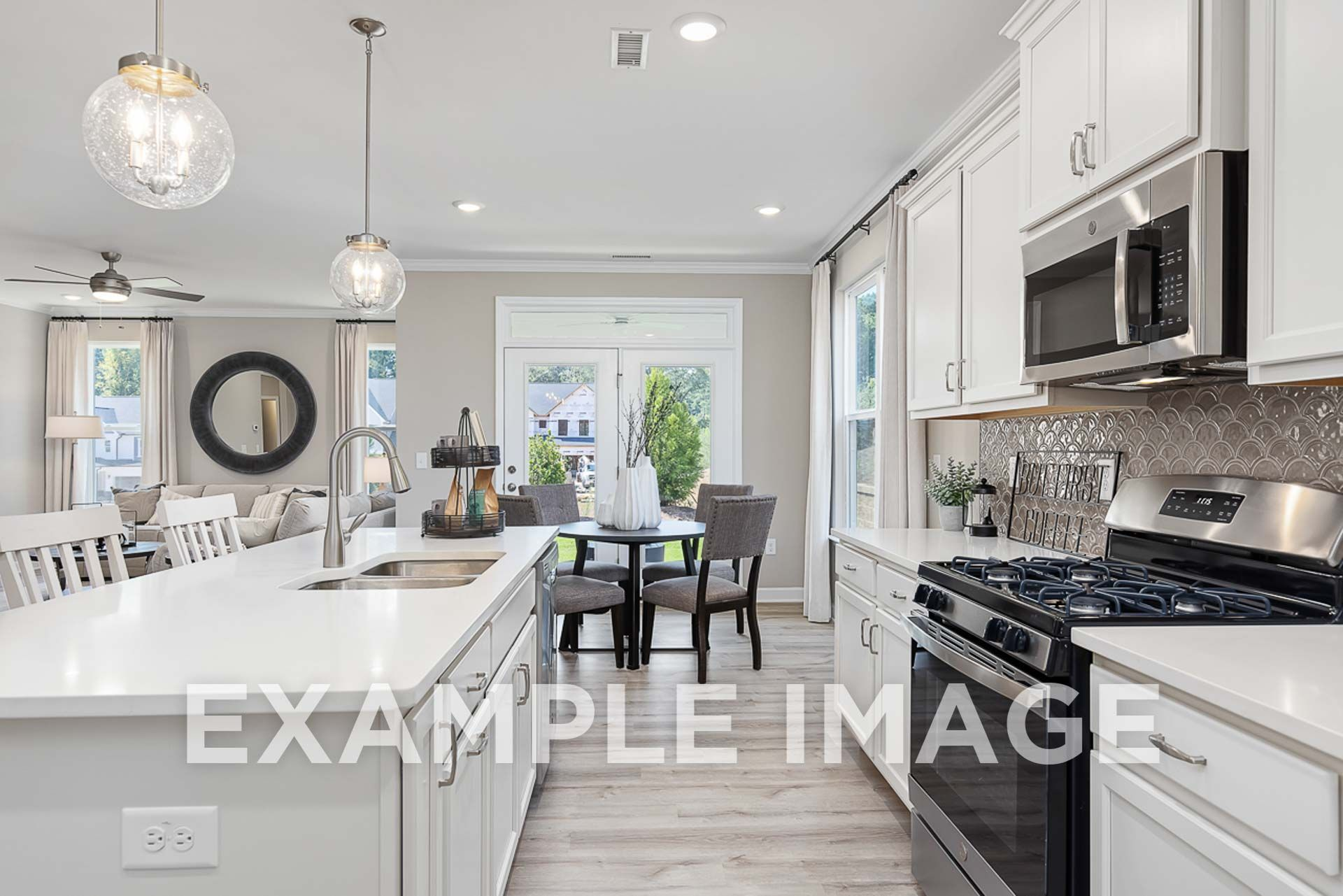 Kitchen featured in The Ash By Davidson Homes LLC in Raleigh-Durham-Chapel Hill, NC