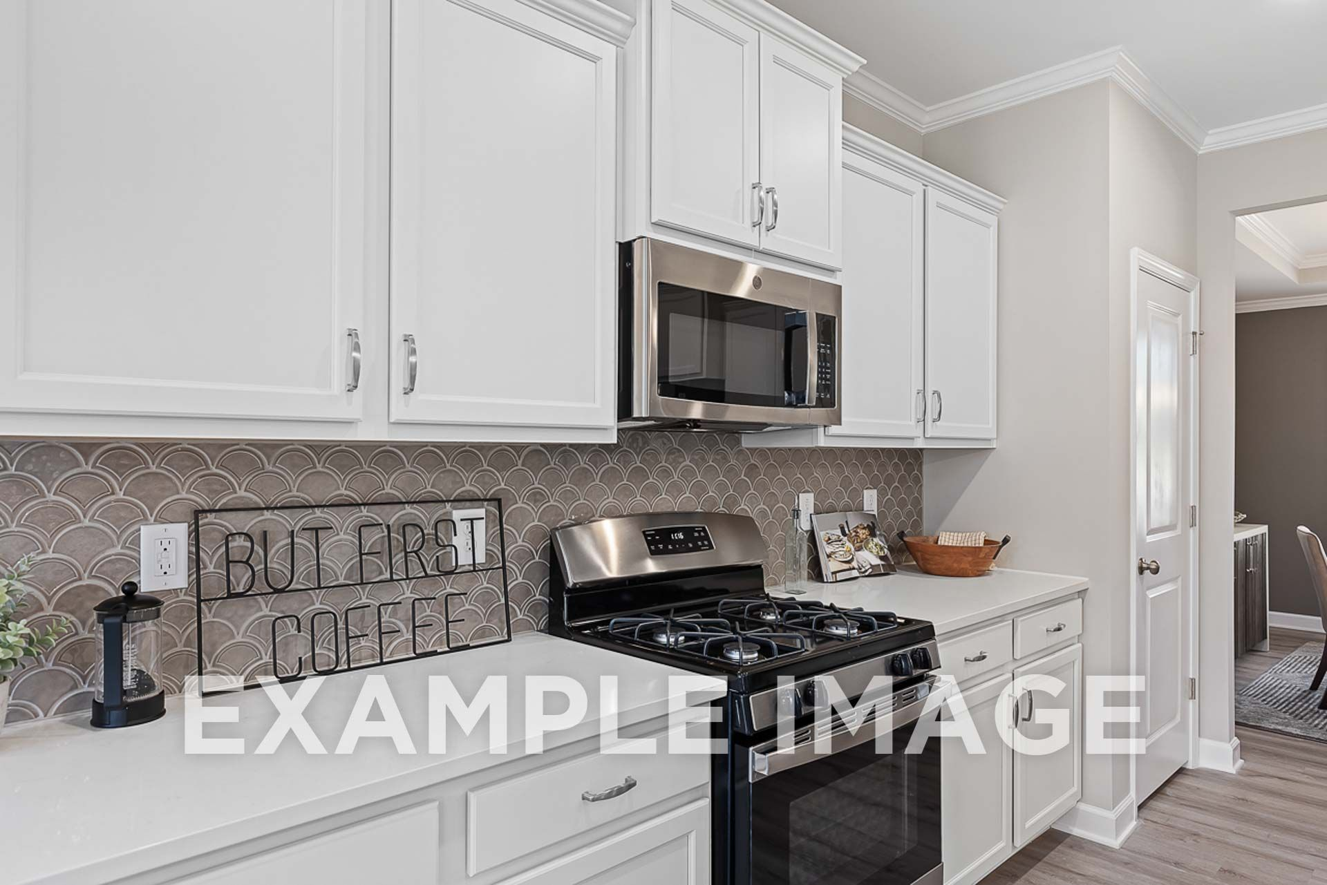 Kitchen featured in The Ash B By Davidson Homes LLC in Raleigh-Durham-Chapel Hill, NC