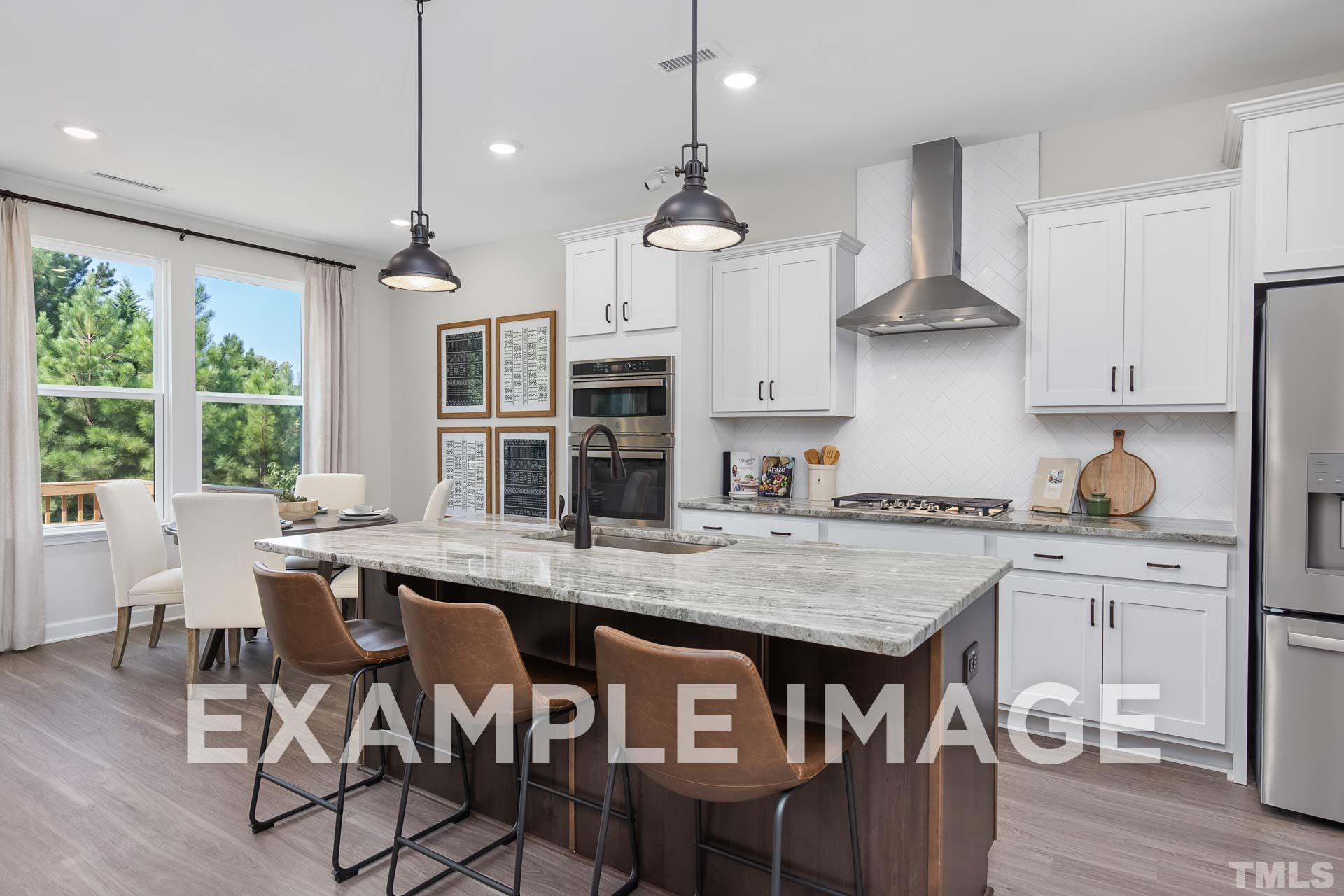 Kitchen featured in The Willow B By Davidson Homes LLC in Raleigh-Durham-Chapel Hill, NC