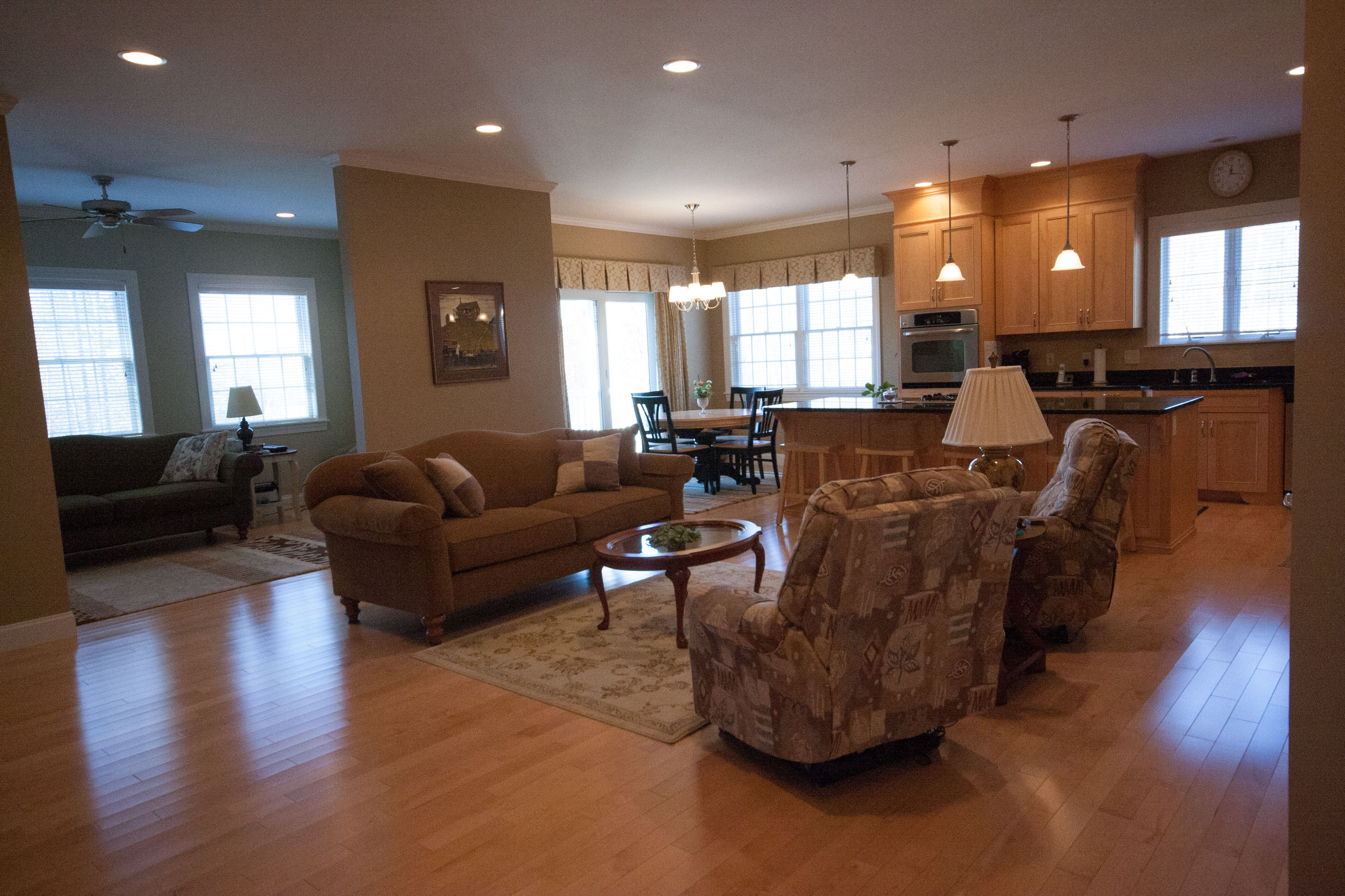 Living Area featured in the Payson By Davis Construction Services in Burlington, VT