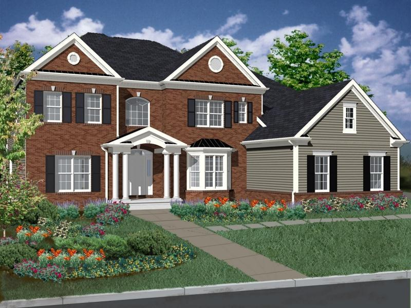 Exterior featured in The Monterey By DeLuca Homes in Philadelphia, PA