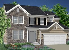 The Merion - The Enclave at Providence: Collegeville, Pennsylvania - DeLuca Homes
