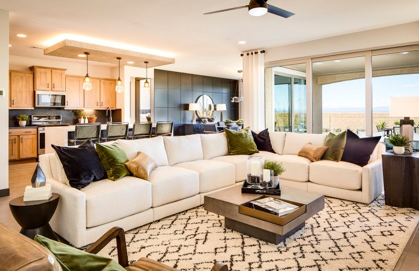 Living Area featured in the Sanctuary By Del Webb in Phoenix-Mesa, AZ