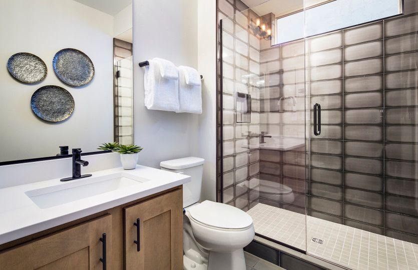 Bathroom featured in the Sanctuary By Del Webb in Phoenix-Mesa, AZ