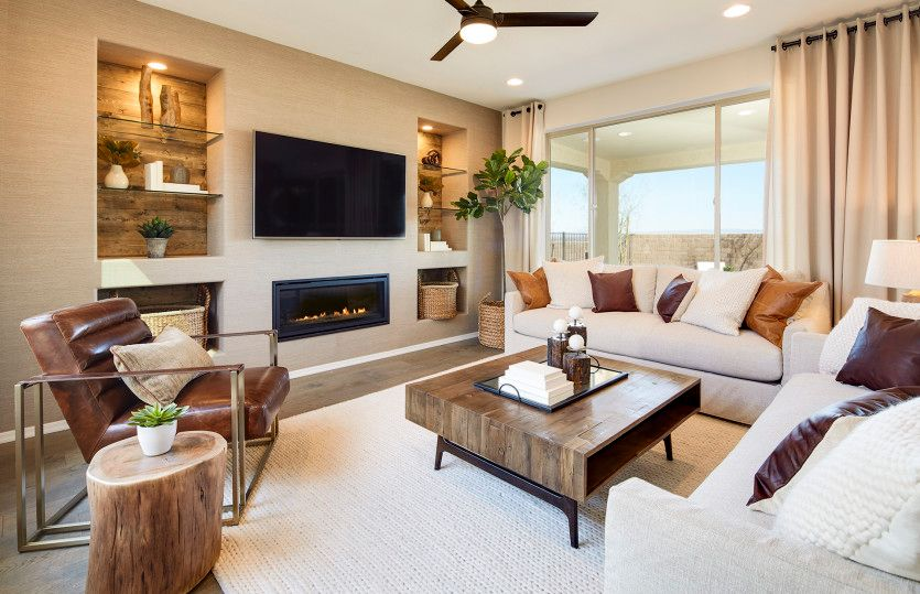 Living Area featured in the Haven By Del Webb in Phoenix-Mesa, AZ