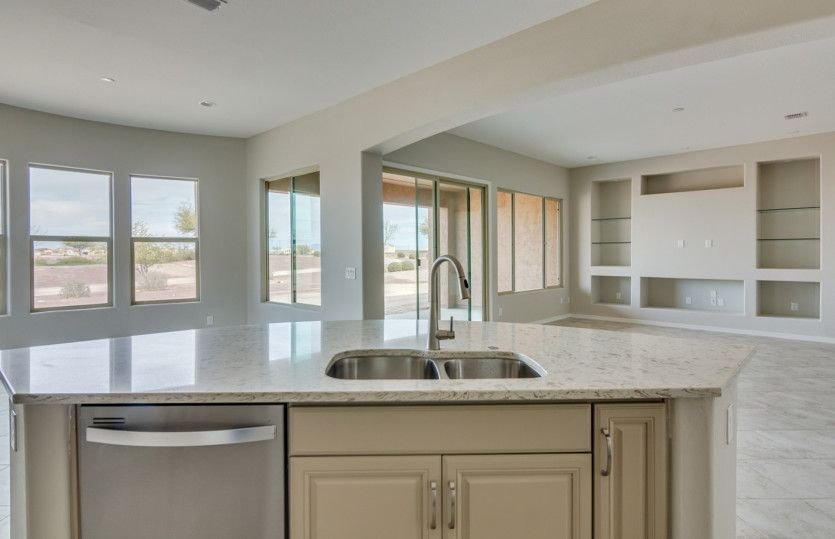 Kitchen-in-Pursuit-at-Sun City Anthem at Merrill Ranch-in-Florence