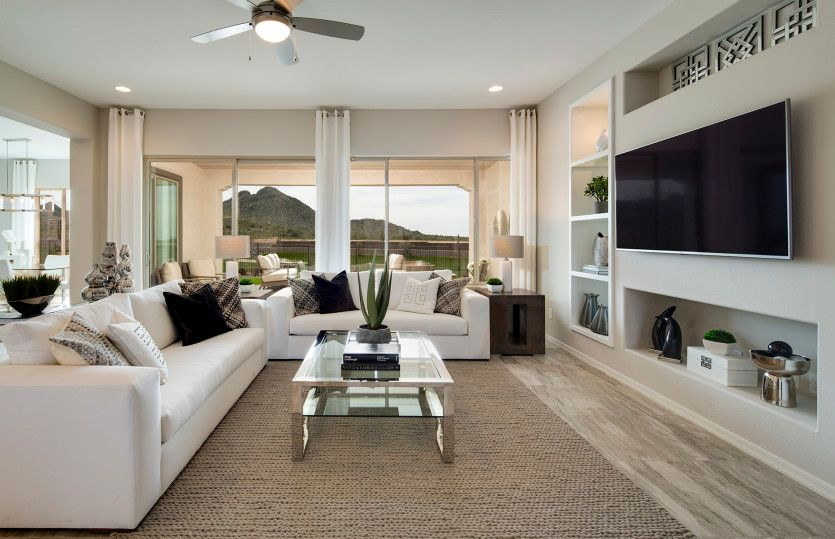 Living Area featured in the Endeavor By Del Webb in Phoenix-Mesa, AZ
