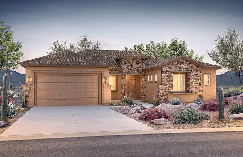 Exterior featured in the Endeavor By Del Webb in Phoenix-Mesa, AZ