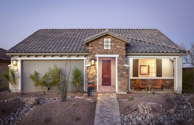 Exterior:Hideaway Single-Story Exterior Home