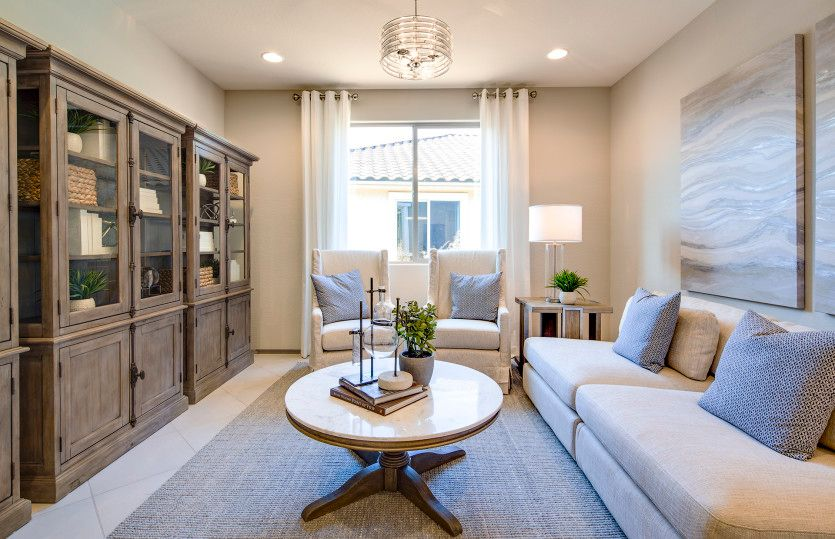Living Area featured in the Preserve By Del Webb in Phoenix-Mesa, AZ