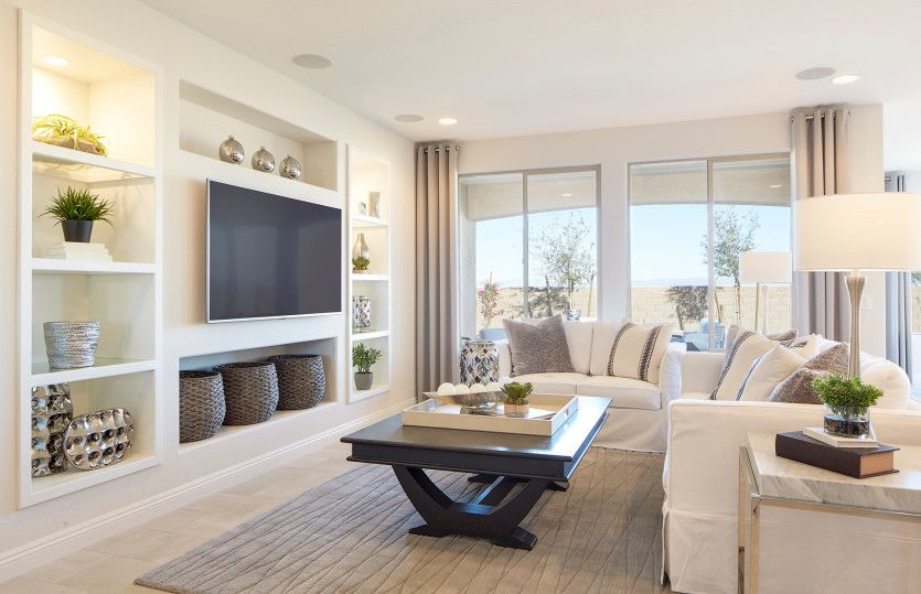 Living Area featured in the Refuge By Del Webb in Phoenix-Mesa, AZ