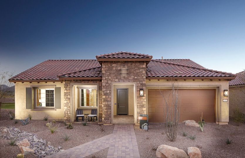 Del Webb New Home Plans In Phoenix Mesa Az Newhomesource