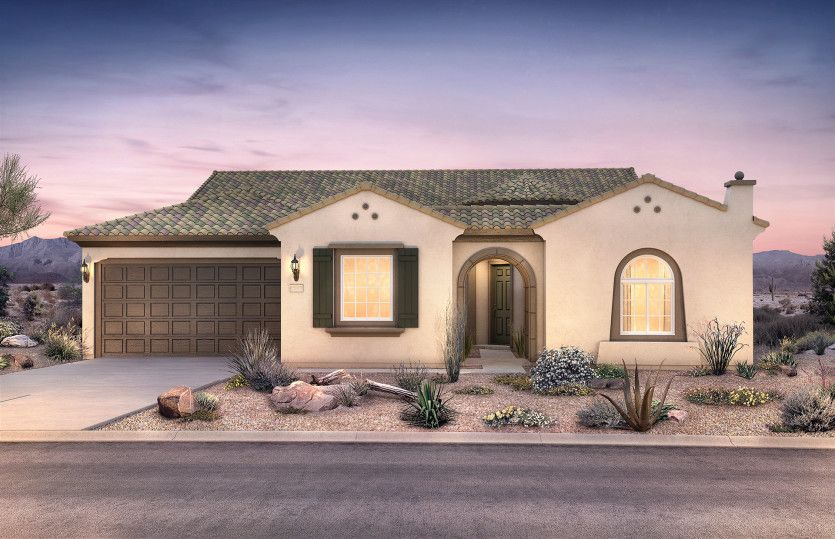 Exterior featured in the Voyage By Del Webb in Phoenix-Mesa, AZ