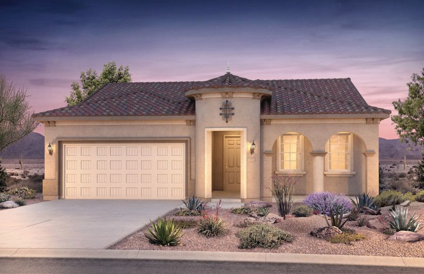 Exterior featured in the Hideaway By Del Webb in Tucson, AZ