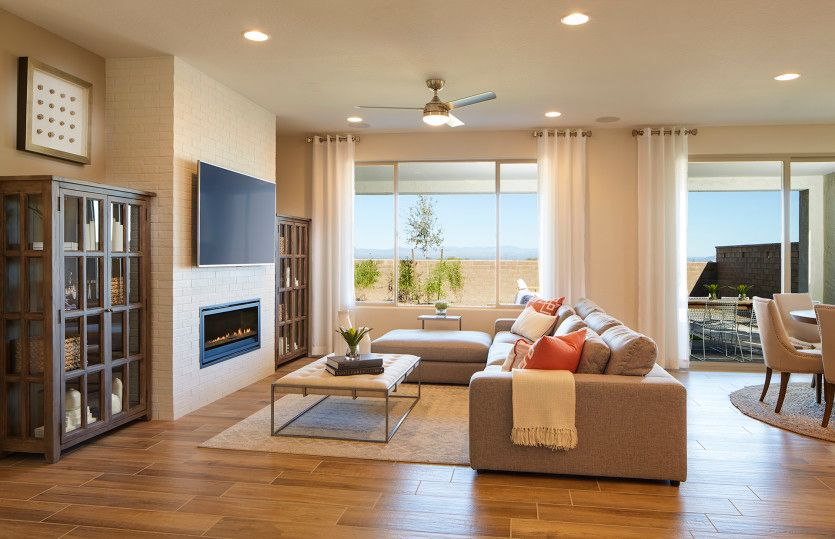 Living Area featured in the Hideaway By Del Webb in Tucson, AZ