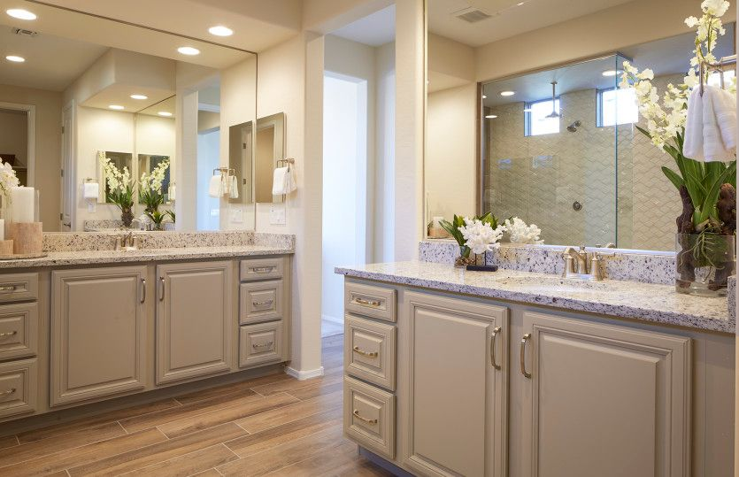 Bathroom featured in the Hideaway By Del Webb in Tucson, AZ