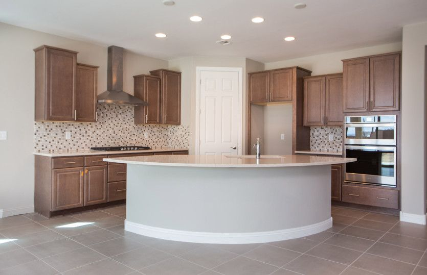Kitchen-in-Hideaway-at-Del Webb at Dove Mountain-in-Marana