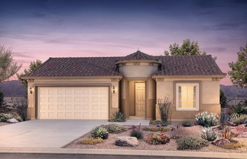 Exterior featured in the Haven By Del Webb in Tucson, AZ