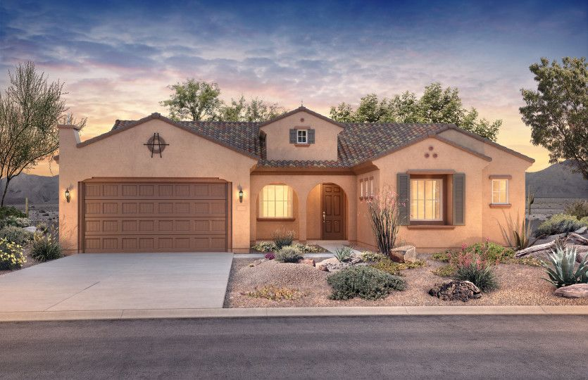 Exterior featured in the Endeavor By Del Webb in Tucson, AZ