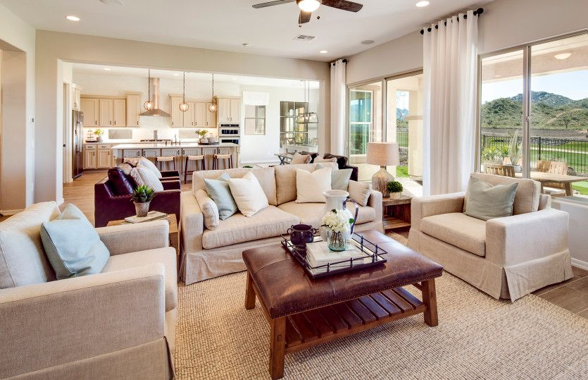 Living Area featured in the Journey By Del Webb in Tucson, AZ