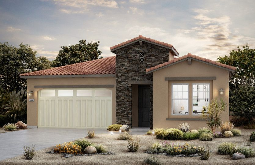 Exterior featured in the Brownstone By Del Webb in Riverside-San Bernardino, CA