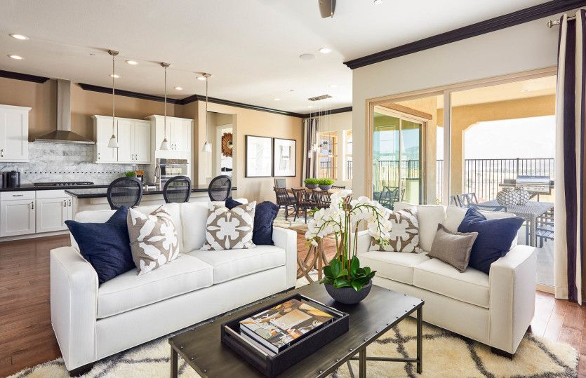 Living Area featured in the Brownstone By Del Webb in Riverside-San Bernardino, CA