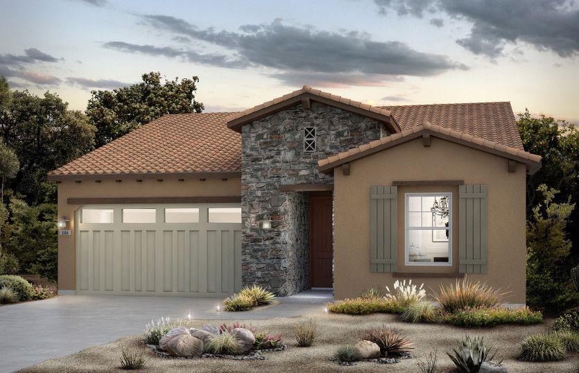 Exterior featured in the Bellwood By Del Webb in Riverside-San Bernardino, CA
