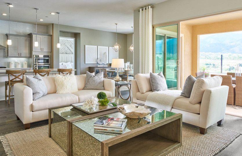 Living Area featured in the Corvara By Del Webb in Riverside-San Bernardino, CA